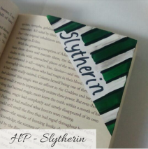 bookmark - slytherin